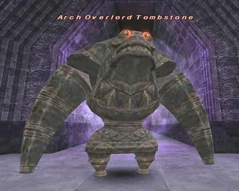 Arch Overlord Tombstone